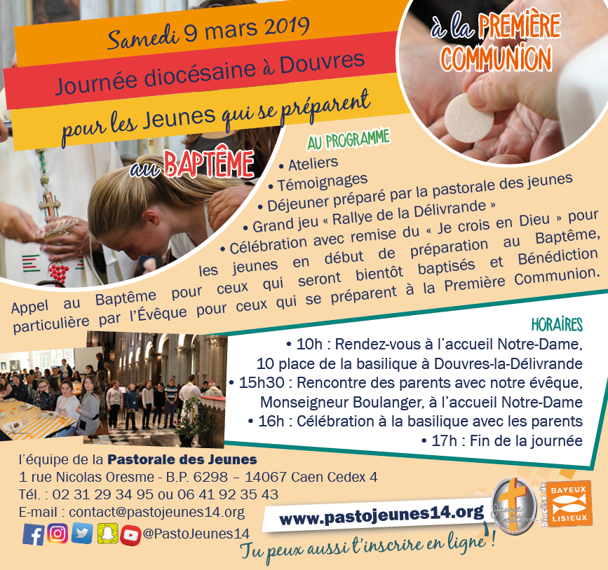 Invitation Journee Bapteme Premiere Communion 09.03.19 web